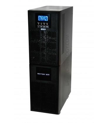Onduleur UPS TECHNOLOGY OnLine Double-Conversion 6KMM / 10KMM