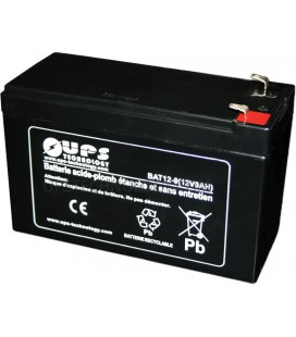 Batteries UPS TECHNOLOGY 12V 9Ah